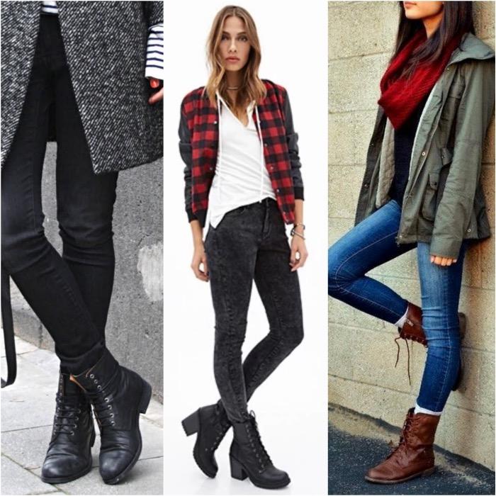 Cu ce pantofi sa porti pantalonii skinny?