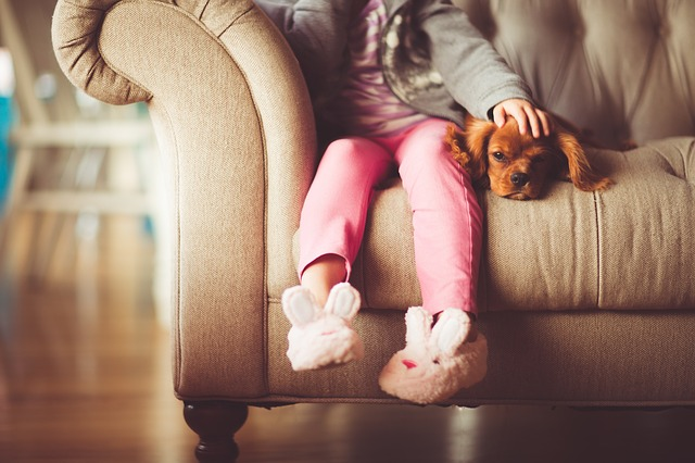 Copiii si animalele de companie – o  relatie necesara