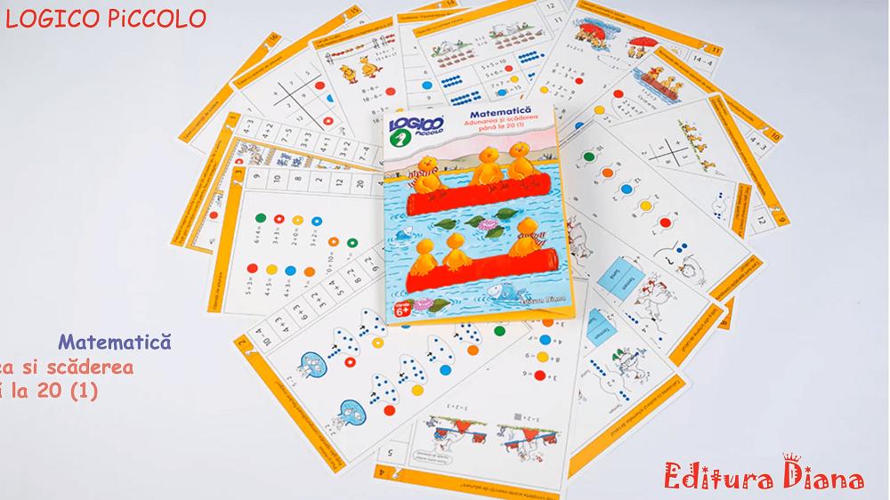 Invatare Prin Distractie - Jocuri Educative Pentru Copiii de Gradinita