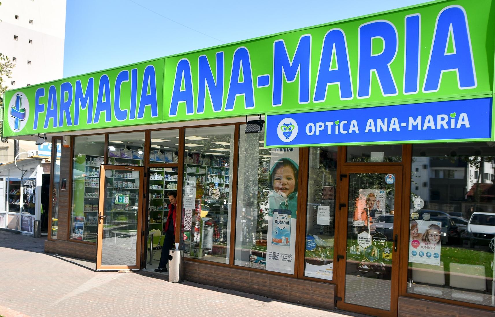 Avantajele de care se bucura pacientii Farmaciei Ana-Maria, o farmacie special infiintata pentru romani