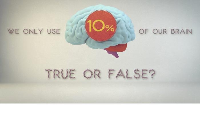 Ne folosim, intr-adevar, doar 10% din capacitatea creierului?