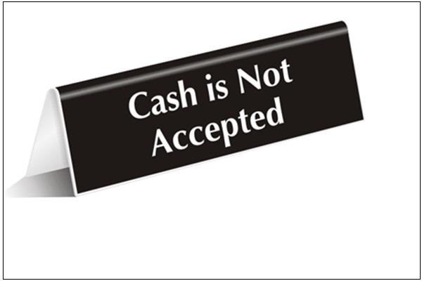 Cand vor disparea banii lichizi din economie?