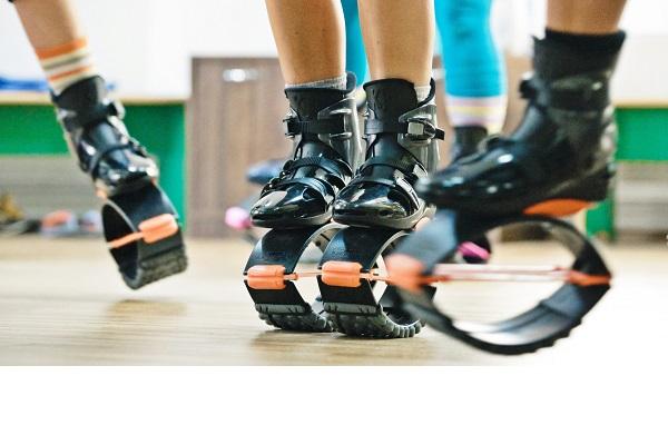 O solutie distractiva pentru a va mentine in forma: ghetele cu arcuri pentru fitness