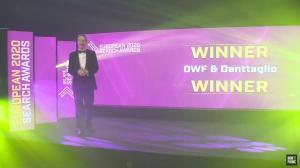 DWF & Denttaglio - Premiu pentru cea mai buna campanie SEO din Europa in domeniul sanatatii