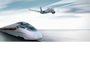Ce mijloc de transport este mai rapid – trenul sau avionul?