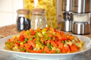 Adauga gust legumelor congelate