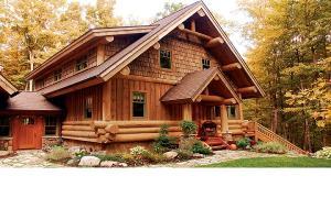 Pentru confortul dvs. - avantajele caselor din busteni