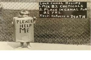 Mari probleme de sanatate publica in istorie. Deseurile toxice din Love Canal